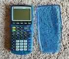 Texas Instruments Clear Blue TI-83 Plus Graphing Calculator TI83+