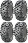Four 4 Maxxis Bighorn 2.0 ATV Tires Set 2 Front 30x10-14 & 2 Rear 30x10-14