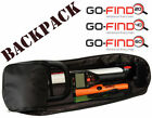 MINELAB GO-FIND 20-22/40-44/60-66 COMPACT BACKPACK FOR METAL DETECTOR, FREE SHI