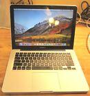 "Apple MacBook Pro A1278 13.3"" Laptop - i5 2.4GHz. 4GB Ram 320GB  HD"