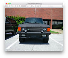 1989 Land Rover Range Rover Country 4x4 1989 Land Rover Range Rover Country 4x4 restoration