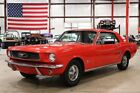1966 Mustang -- 1966 Ford Mustang  55148 Miles Red Coupe 6 Cylinder Manual