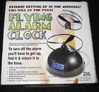 Tech Tools Flying Alarm Clock Open Box never used