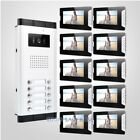 """7"""" LCD Video&Audio Door Entry Kit with One Button Unlock for House/Flat"""