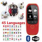 "Boeleo K1 2.0"" Smart Language Translator Voice 45 Languages BT Translation E8Z0"