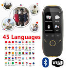 "Boeleo K1 2.0"" Smart Language Translator Voice 45 Languages BT Translation M6Y6"
