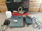 SONY MICROCASSETTE TRANSCRIBER BM-840T ONE OWNER USED WITH EXTRAS FREE SHIPPING