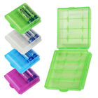Portable Plastic Battery Storage Box Case Holder Container For AA AAA Batteries
