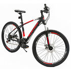 "26"" Aluminum Mountain Bike 21 Speeds Shimano Suspension Front Bicycle"