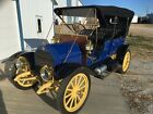 1911 Elmore 25  1911 Elmore 25 Brass Touring Car Clyde Ohio General Motors Two-cycle Engine