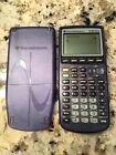 Texas Instruments TI-83 Plus Graphing Calculator Clear Blue SAME DAY SHIPPING