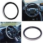 1Pcs 38cm PU Leather Woman Car Steering Wheel Cover Anti-slip Sleeve Protector