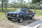 1965 Mustang 4 Speed 2 Plus 2 1965 Ford Mustang 4 Speed 2 Plus 2  Black Fastback  289CI V8 Restored
