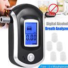 LCD Handheld Digital Police Breathalyzer Breath Test Tester Analyzer Detector