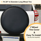 "PU Leather 29"" Spare Wheel Tire Cover For SUZUKI Grand Vitara RV Truck Trailer"
