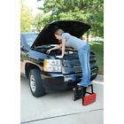 Pro-Lift Grey Creeper Seat and Step Stool Combo 300 lb. Capacity 5 Swivel Caster