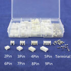 Lots terminal connectors 2.54mm housing header wire 2-10p Pitch Kit Useful Part