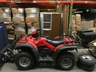 Honda Rubicon TRX500FA    4X4 Sports Utility QUAD with Accessories & Trailer