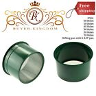 Mini Sifting Pan W/ Stainless Steel Wire Mesh Stackable And Plastic Green 5.5""