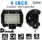200W LED Work Light Bar Spotlight Off-road Driving Fog Lamp SUD 4WD Cars Truck