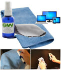 NEW! GW MAGIC SCREEN CLEANER FOR SAMSUNG SONY 4K HD TV WITH 2 MICROFIBER CLOTHS
