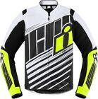 Icon Overlord SB2 CE Mens Textile Jacket Hi-Viz/Yellow