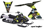 Snowmobile Graphics Kit Decal Sticker Wrap For Ski-Doo RT 2005-2009 HATTER Y K