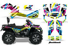ATV Graphics Kit Decal Wrap For CanAm Outlander Max 500/800 2006-2012 FLASHBACK