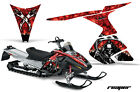 Snowmobile Graphics Kit Decal Sticker Wrap For Ski-Doo RT 2005-2009 REAPER RED