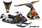Snowmobile Graphics Kit Decal Sticker Wrap For Ski-Doo RT 2005-2009 FIRESTORM K