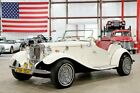 1952 MG T-Series -- 1952 MG TD  40490 Miles White Convertible 2.3L 4-Cylinder Automatic