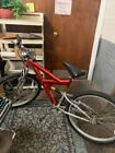 Cheap Working Antique Red Bicycle!