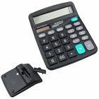 LCD Large Display 12 Digit Electronic Business Office Desktop Solor Calculator