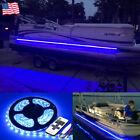 Blue LED Boat Light Deck Waterproof 12v Bow Trailer Pontoon Lights Kit Marine