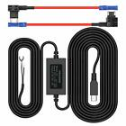 Pruveeo Hard Wire Kit For Dash Cam With 2 Fuse Tap Cable, Mini Usb Port, 12V To