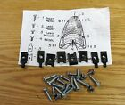1955 CHEVY TAIL LAMP MOUNTING HARDWARE KIT new