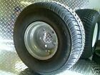 "10"" GALVANIZED Trailer Rim Tire Wheel Assembly 5H DPly 8 Ply  3H440 ST205/65-10"