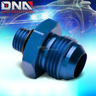 AN10 10-AN 1/2-16 UNF OIL/FUEL LINE HOSE END MALE/FEMALE FITTING ADAPTOR BLUE