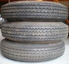 2 Trailer Wheel Tires P155 80D13  NEW!