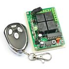 12V Four 4 Channel Way RF Remote Control Switch for Light