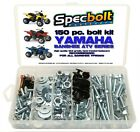 150pc Specbolt YAMAHA BANSHEE YFZ350 ATV Bolt Kit plastic body engine lug nuts
