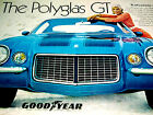 1970 CHEVY CAMARO VINTAGE GOODYEAR TIRE AD-poster/sign-SS/RS/Z28/14x7/15x7/wheel