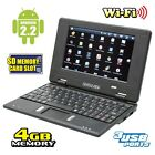 CrystalView 7in Android Netbook