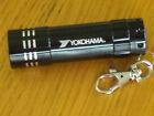 "YOKOHAMA Mini LED Key Chain Flashlight  3 1/2 """