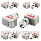 5pairs 1 Channel Passive Video Balun Transceiver for CCTV Camera 90 degrees 5