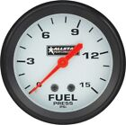 "Allstar Performance ALL80098 Allstar Fuel Pressure Gauge 0-15 PSI 2 5/8"" Mechani"