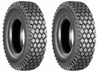 2 (TWO) 410/350-4  4.10/3.50-4  4.10/3.50x4 4PR Tubeless  Stud Tires Heavy Duty