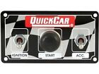 Quick car Dirt Car Ignition and accerssory switches w/ starter button waterproof