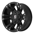 18 inch 18x9 Jeep JK BLACK Rims
