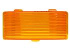 Bargman Exterior Amber Porch Light Replacement Lens RV Camper Trailer Orange